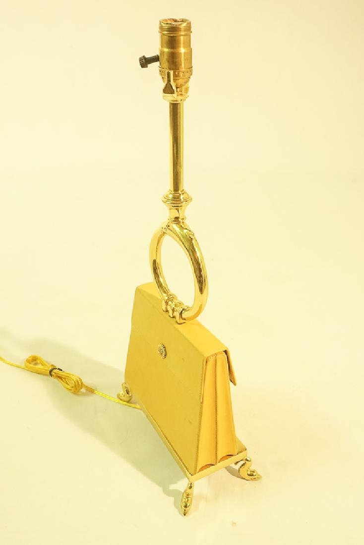 Leather Purse Lamp by CHAPMAN - 9