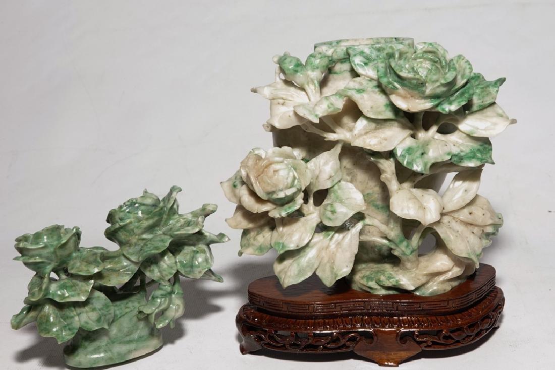 Chinese Jadeite  Urn with Lid - 10