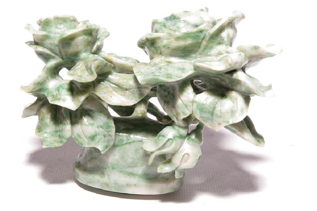 Chinese Jadeite  Urn with Lid - 2