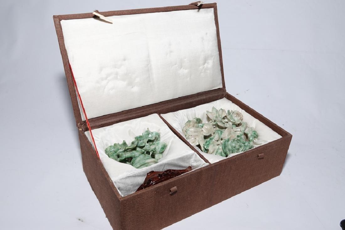 Chinese Jadeite  Urn with Lid - 8