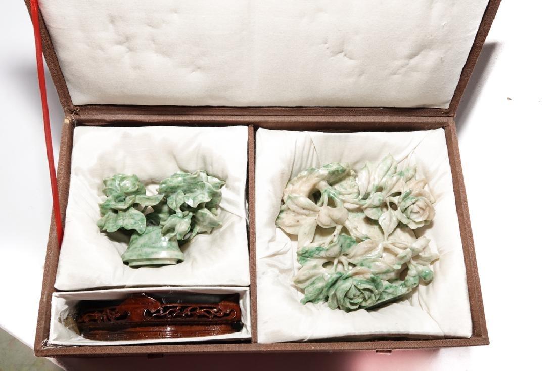 Chinese Jadeite  Urn with Lid - 9