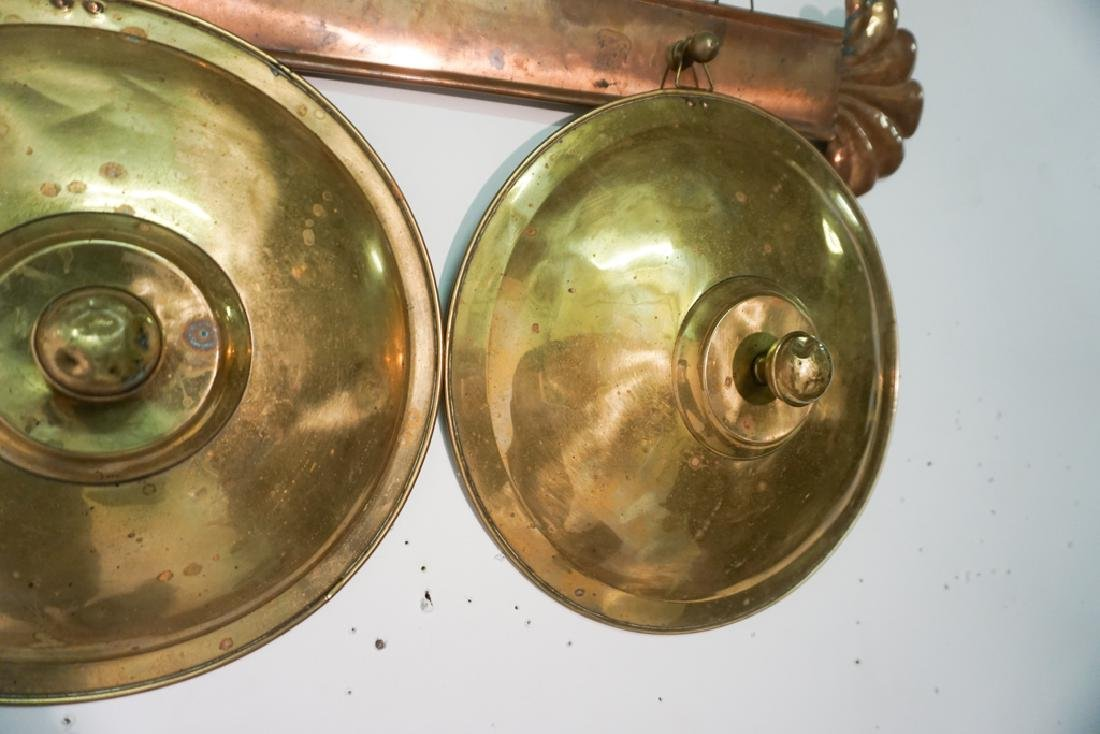 French Copper Pot Lid Holder - 4