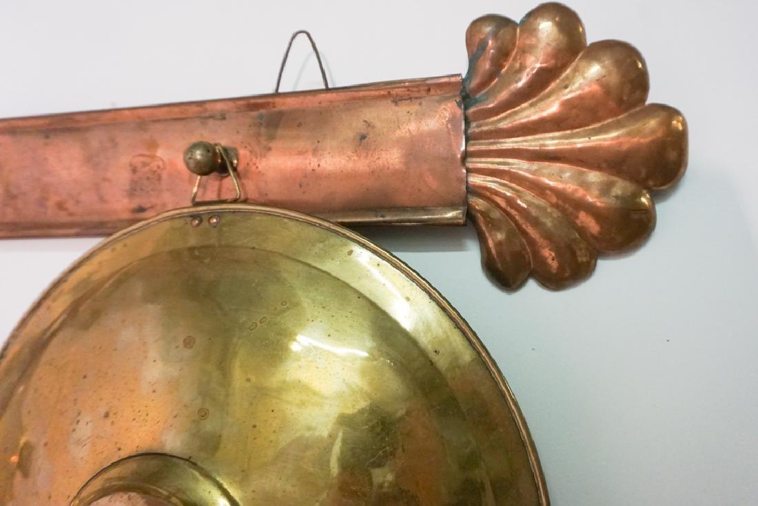 French Copper Pot Lid Holder - 6