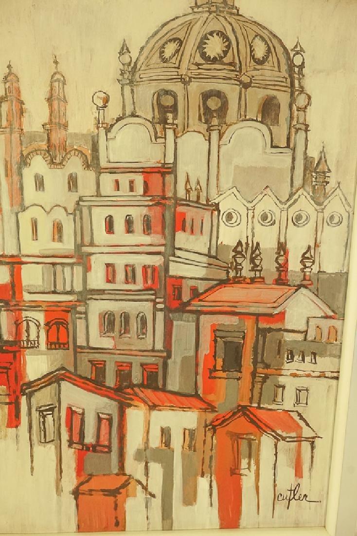 Amer. Contemporary School, Architectural Cityscape - 3