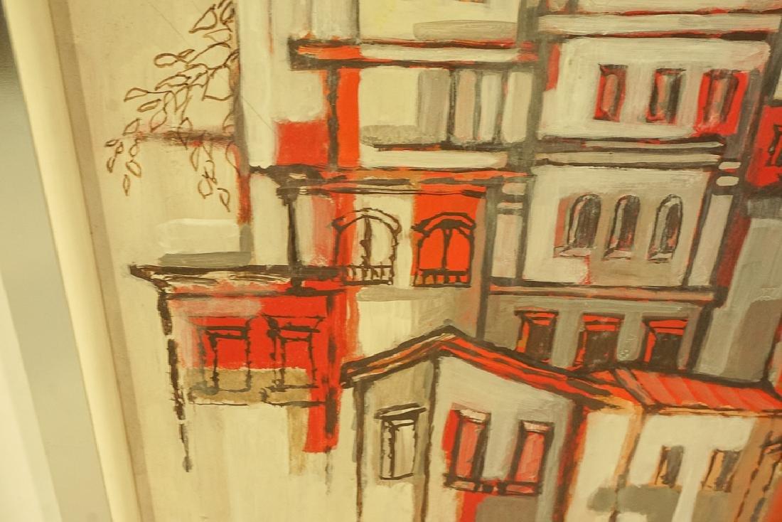 Amer. Contemporary School, Architectural Cityscape - 5
