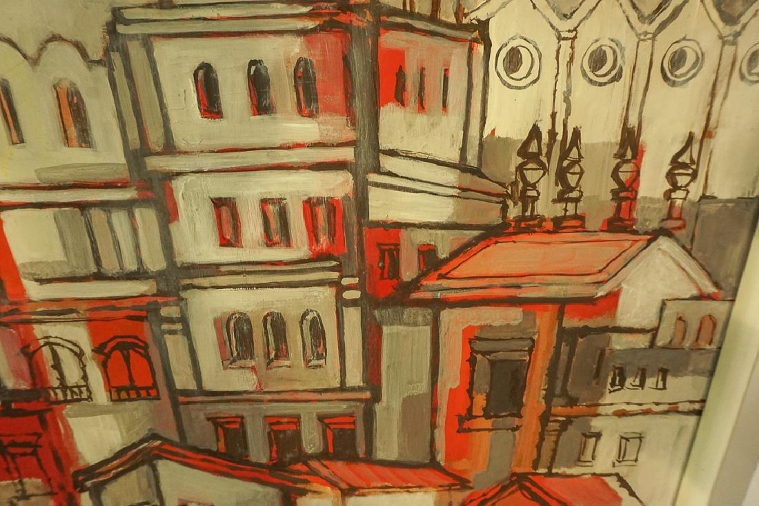 Amer. Contemporary School, Architectural Cityscape - 9