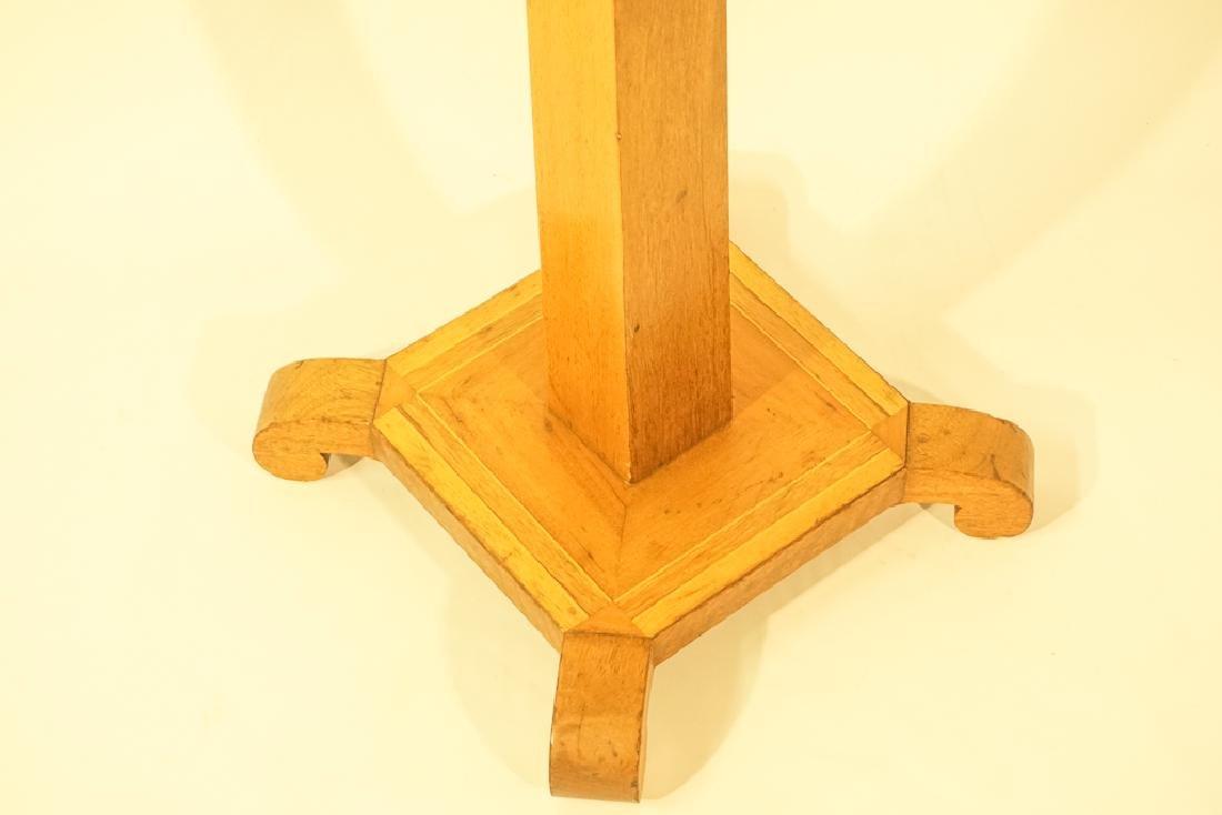 Tramp Art Style Pedestal - 4
