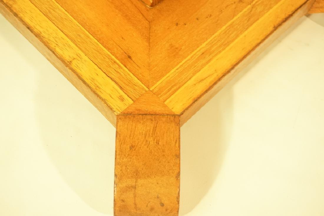 Tramp Art Style Pedestal - 7