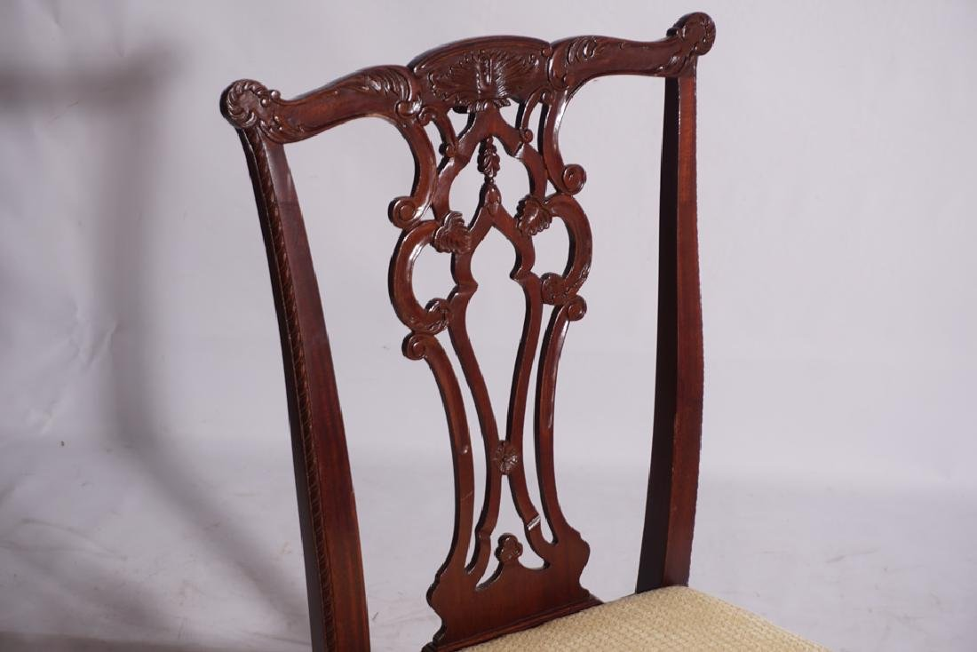 Set of Six HICKORY CHAIR  Dining or Side Chairs - 4