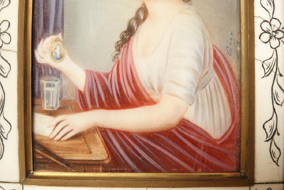 Portrait Miniature of a Woman - 2