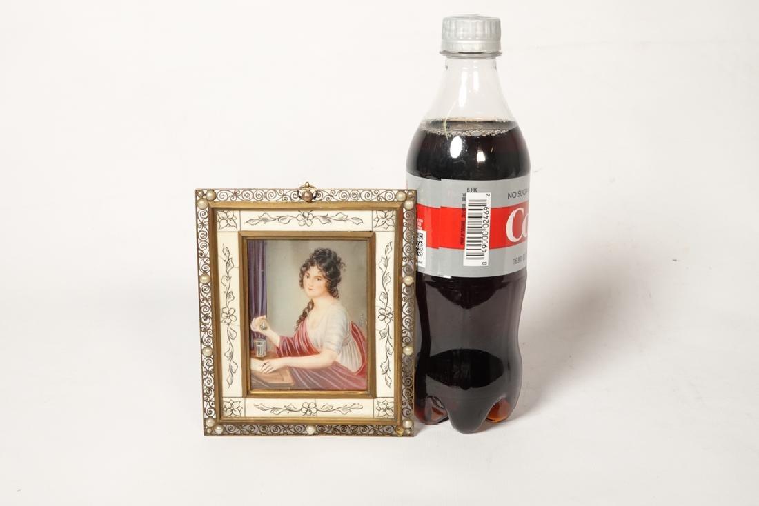 Portrait Miniature of a Woman - 7
