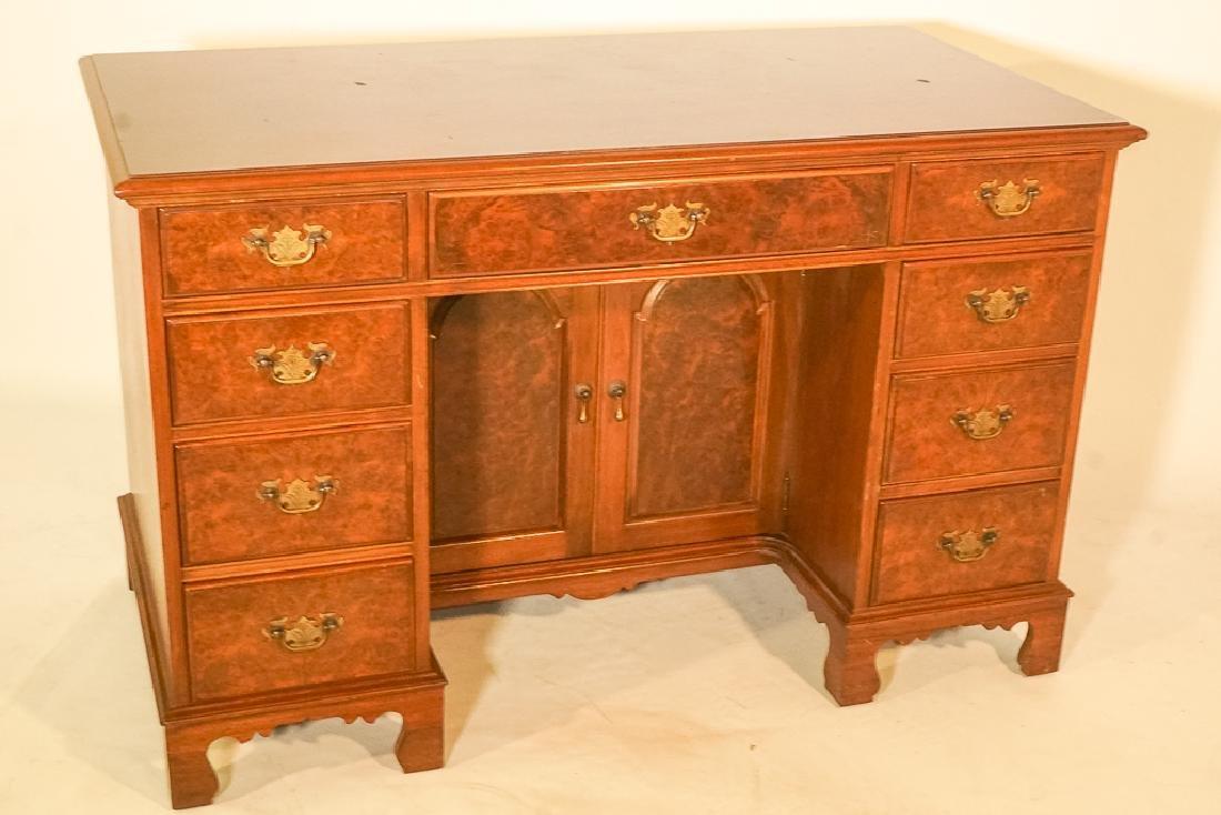Georgian Style Kneehole Desk - 2
