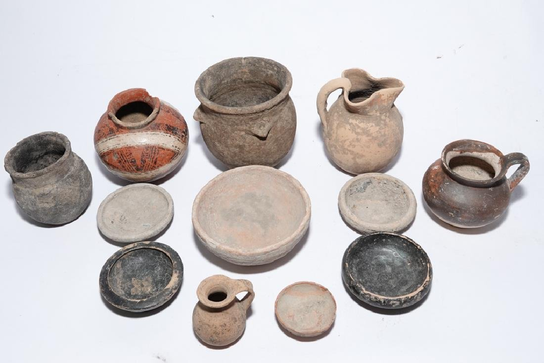 Eleven (11) Pre-Columbian Style Pots - 10
