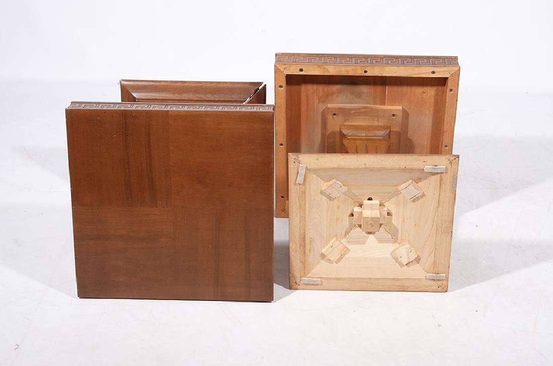 Pair of 60's Square End Tables - 8
