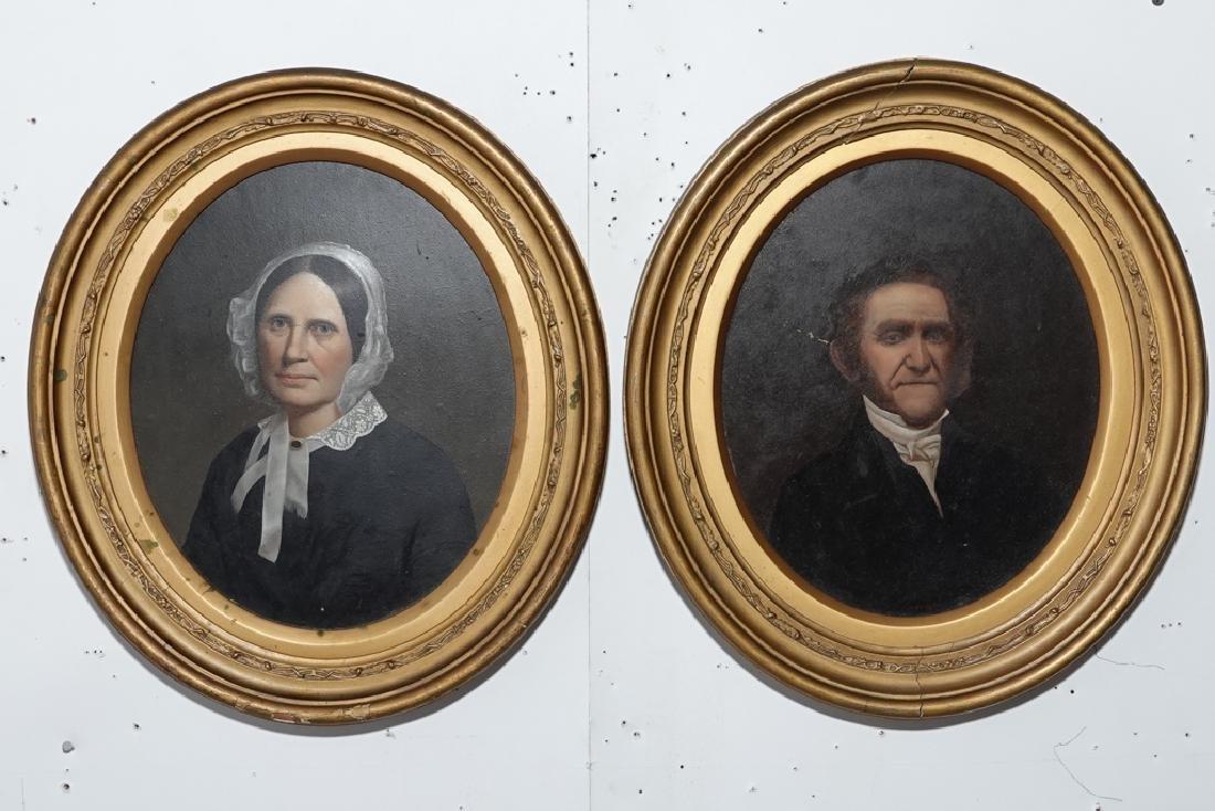 Pair 19th European  Portraits - 10