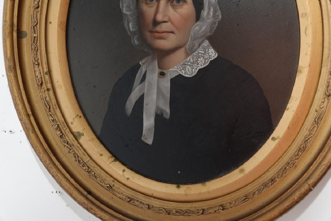 Pair 19th European  Portraits - 3