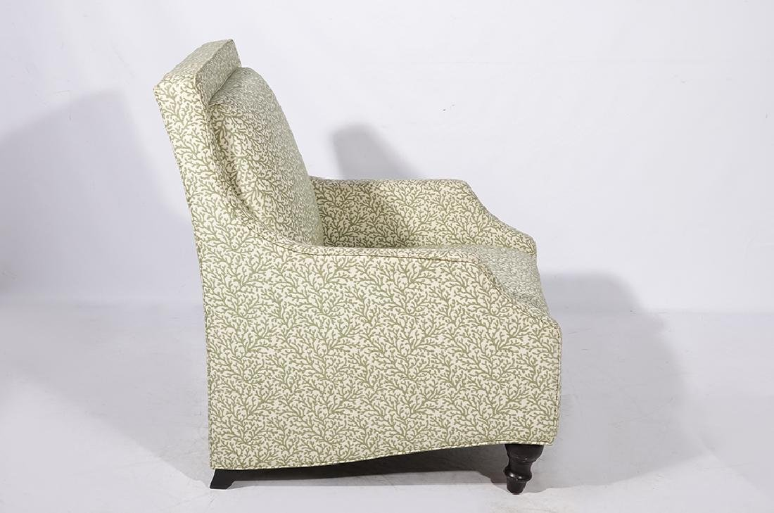 Pair Upholstered Club Chairs - 3
