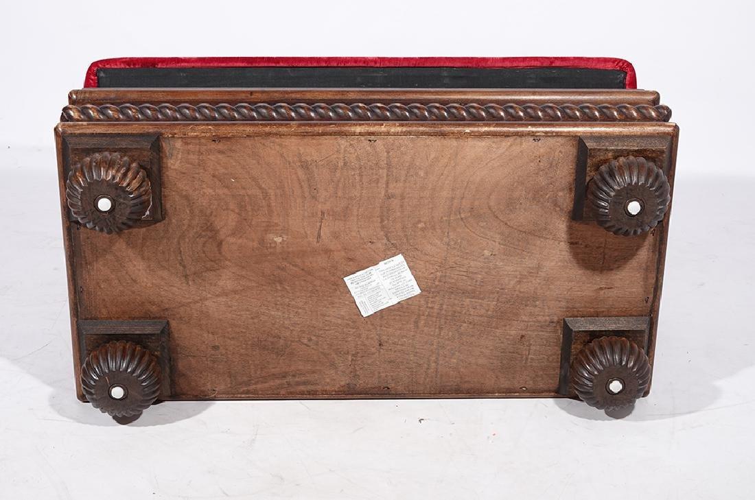 Tufted Velvet Bench - 3