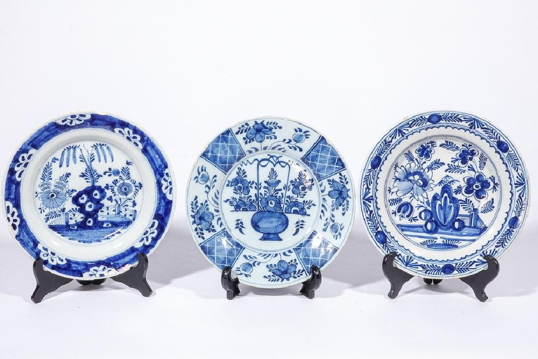 Three (3) Chinese Porcelain Plates - 2