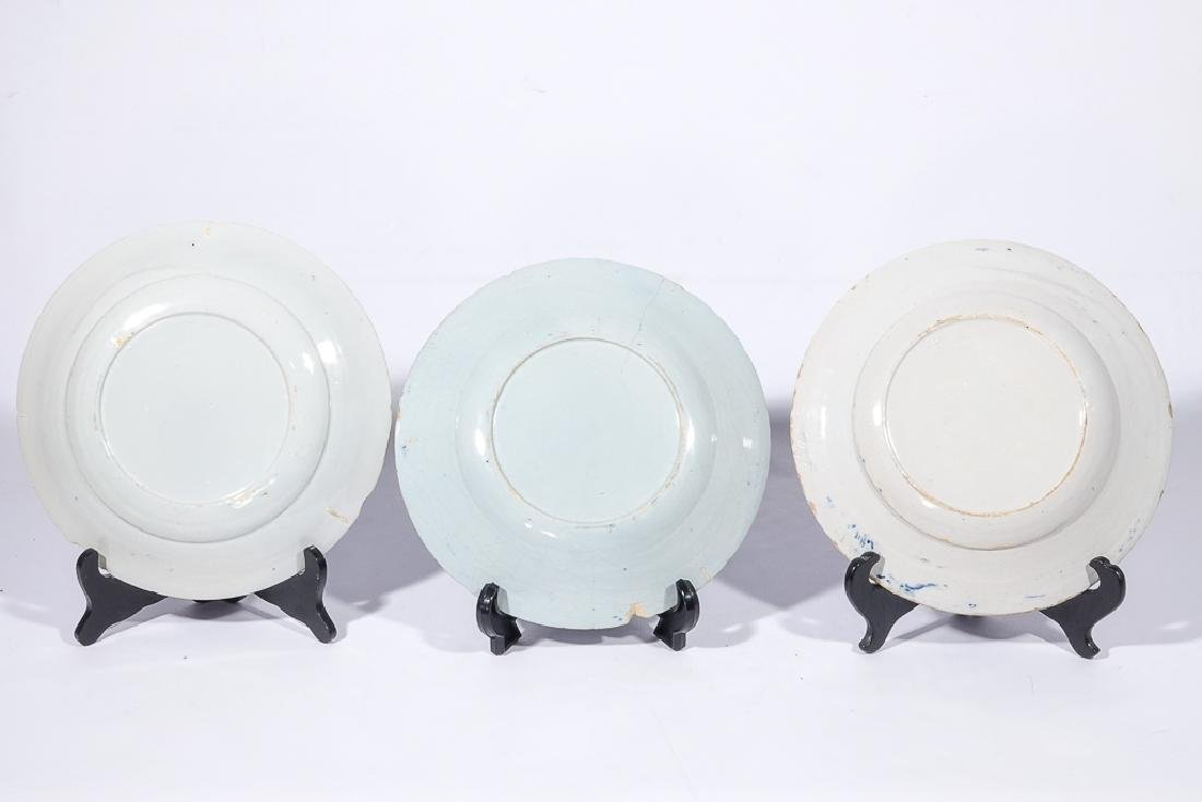 Three (3) Chinese Porcelain Plates - 3