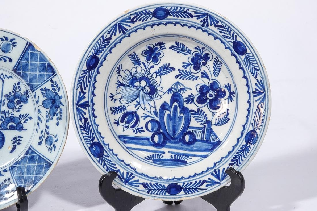 Three (3) Chinese Porcelain Plates - 8
