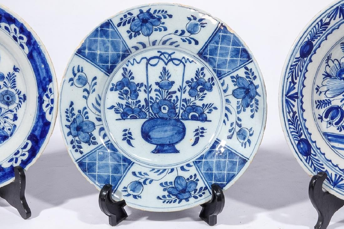Three (3) Chinese Porcelain Plates - 9