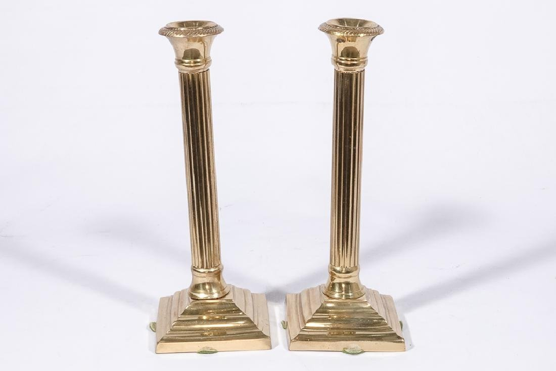Three Pairs Bass Candlesticks - 7