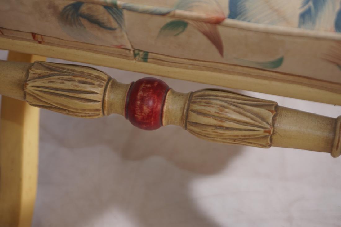 KARGES Pair Regency Style Painted Stools - 6