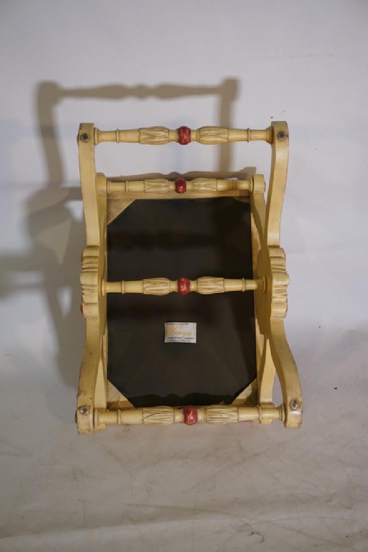 KARGES Pair Regency Style Painted Stools - 8