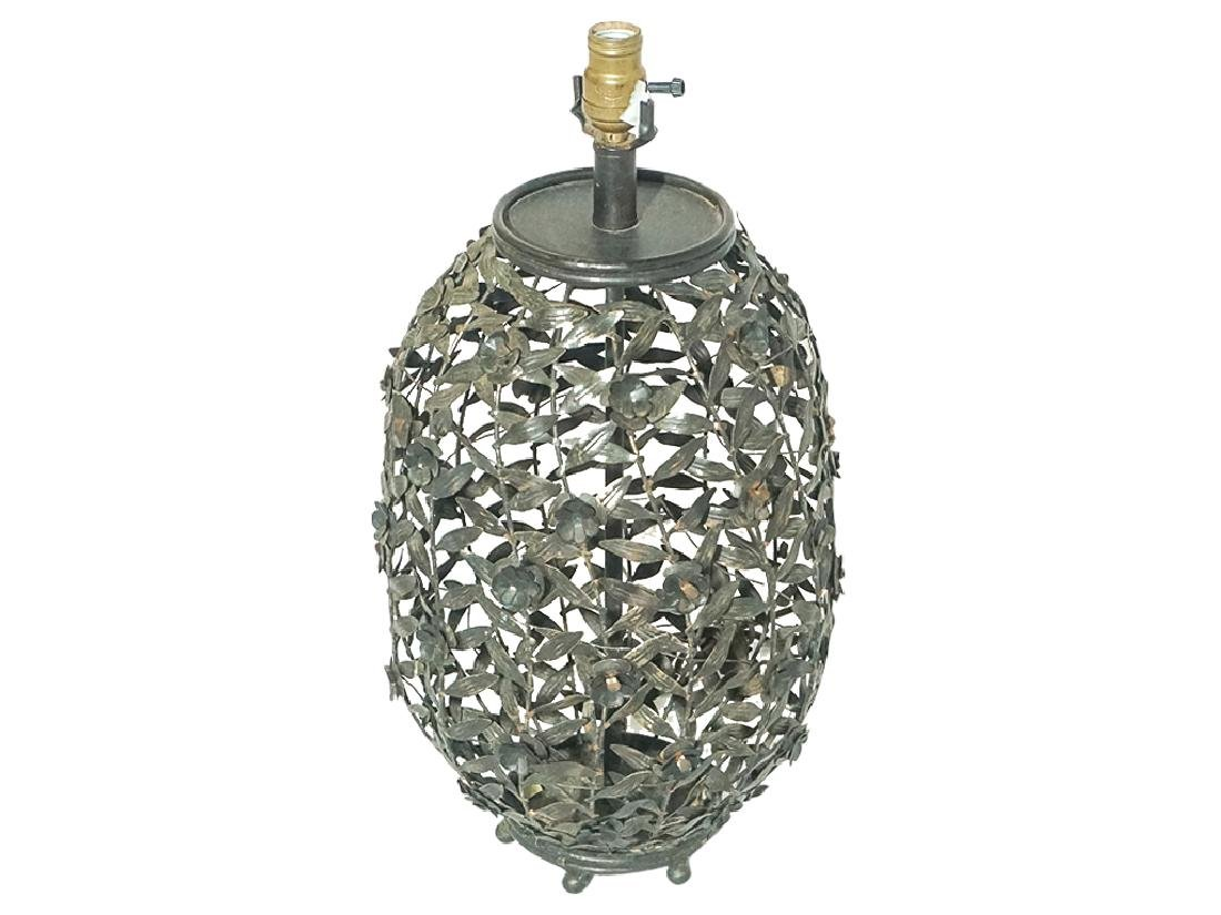 Metalwork Canister Lamp