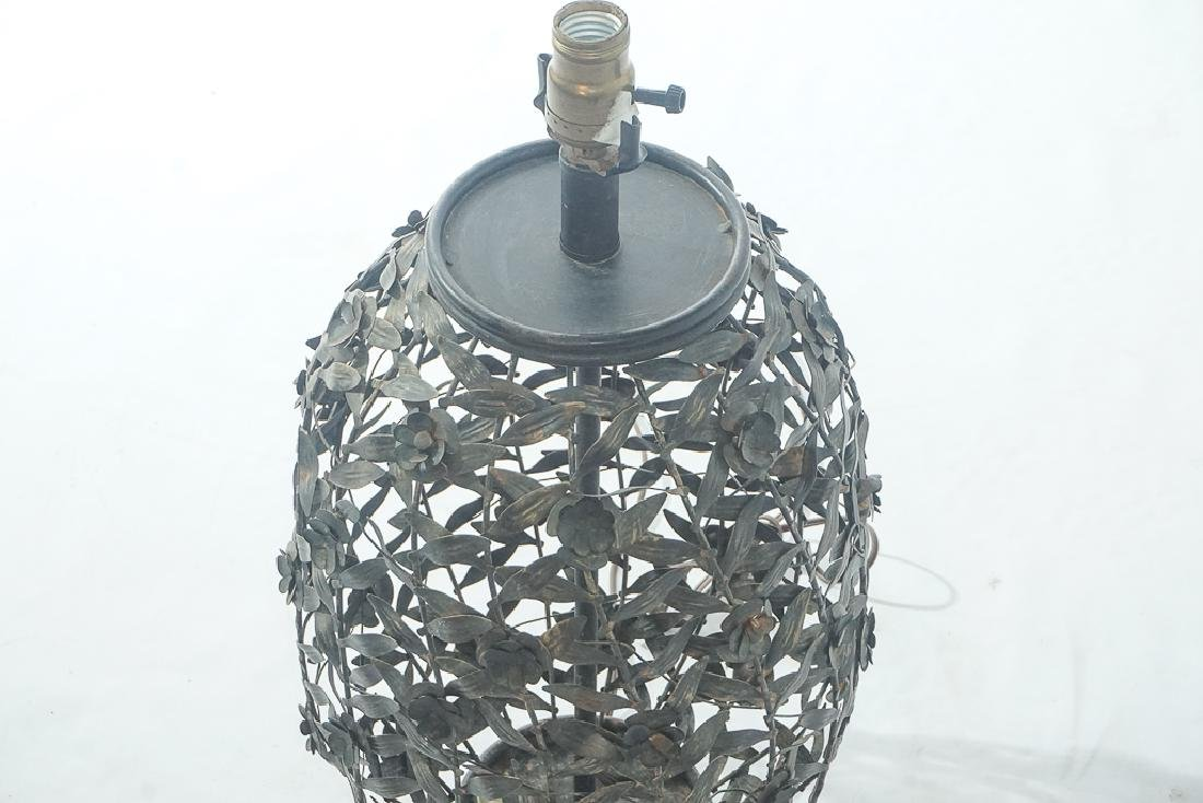 Metalwork Canister Lamp - 2