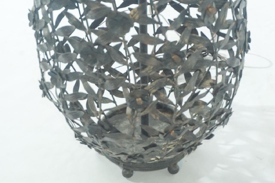Metalwork Canister Lamp - 3