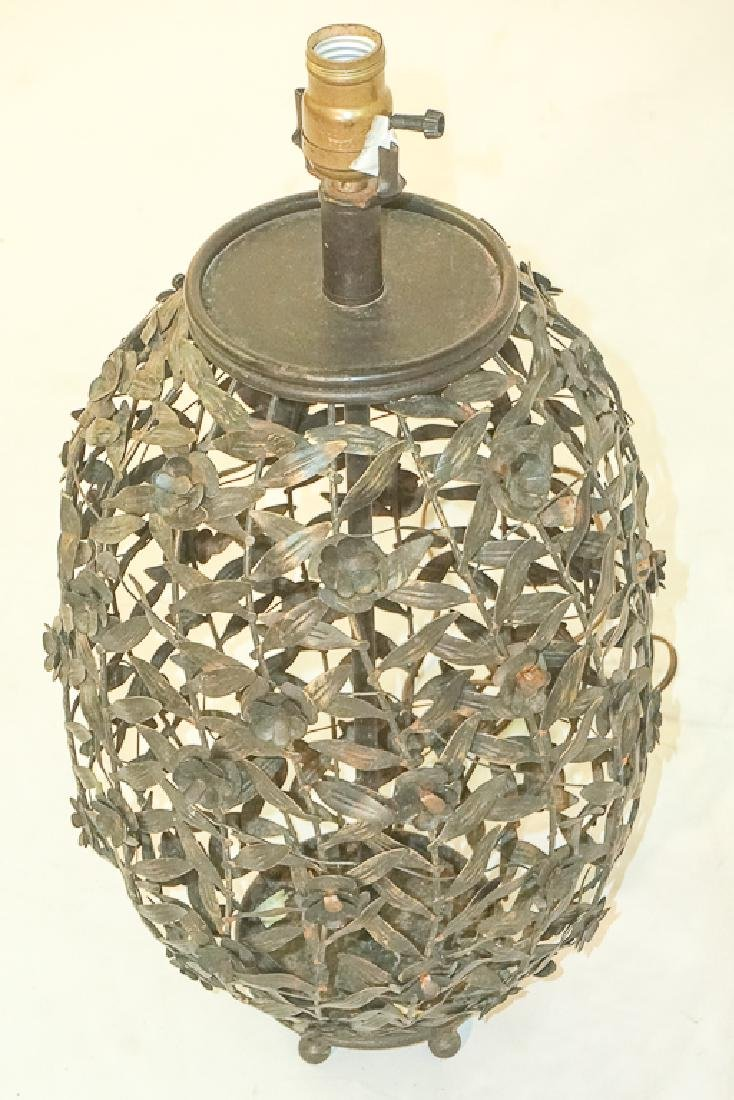 Metalwork Canister Lamp - 4
