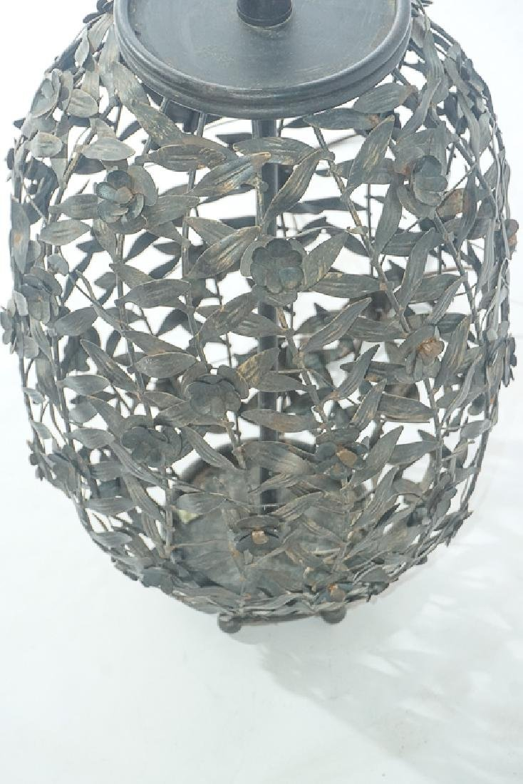 Metalwork Canister Lamp - 5