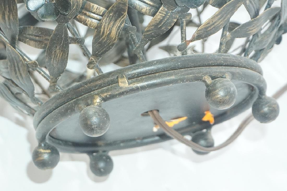 Metalwork Canister Lamp - 6