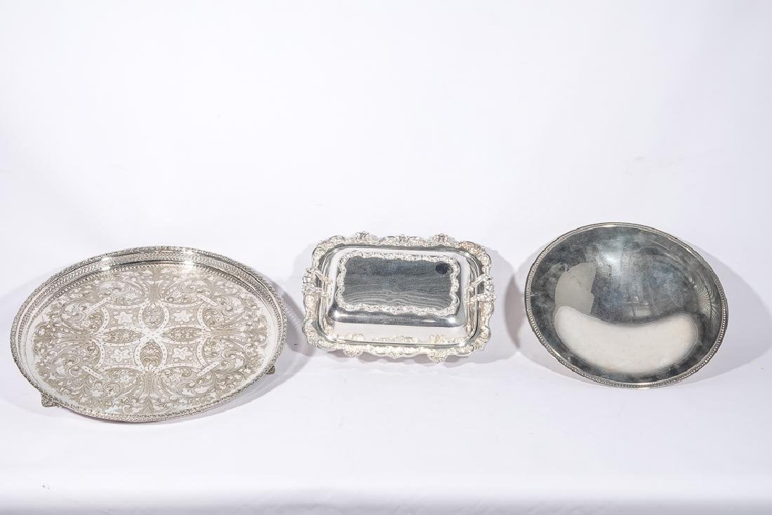 Lot of CHRISTOFLE etc Silver Plate - 4