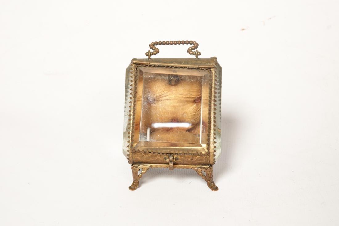 Napoleon III Miniature Gilt Metal Box - 2