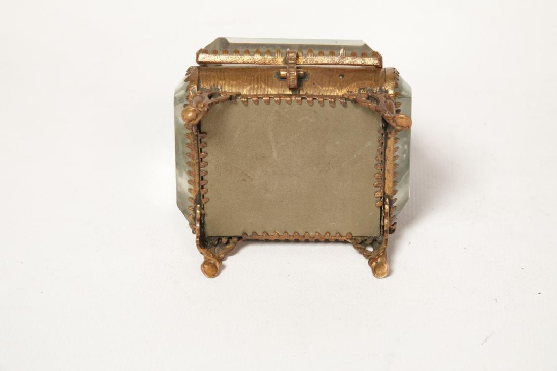 Napoleon III Miniature Gilt Metal Box - 8