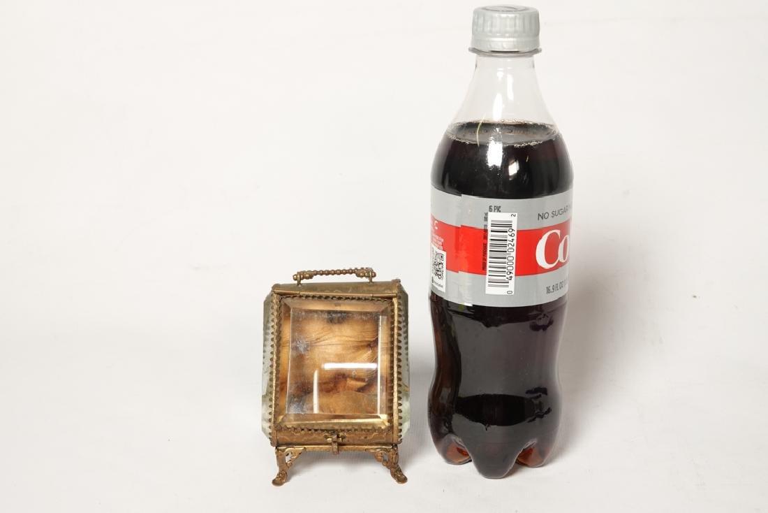 Napoleon III Miniature Gilt Metal Box - 9