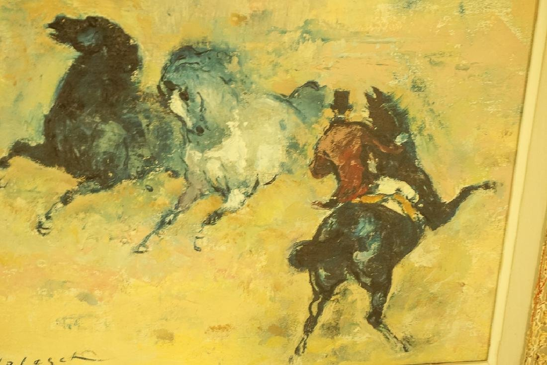 "20th C School, ""Horses with Rider"" - 3"