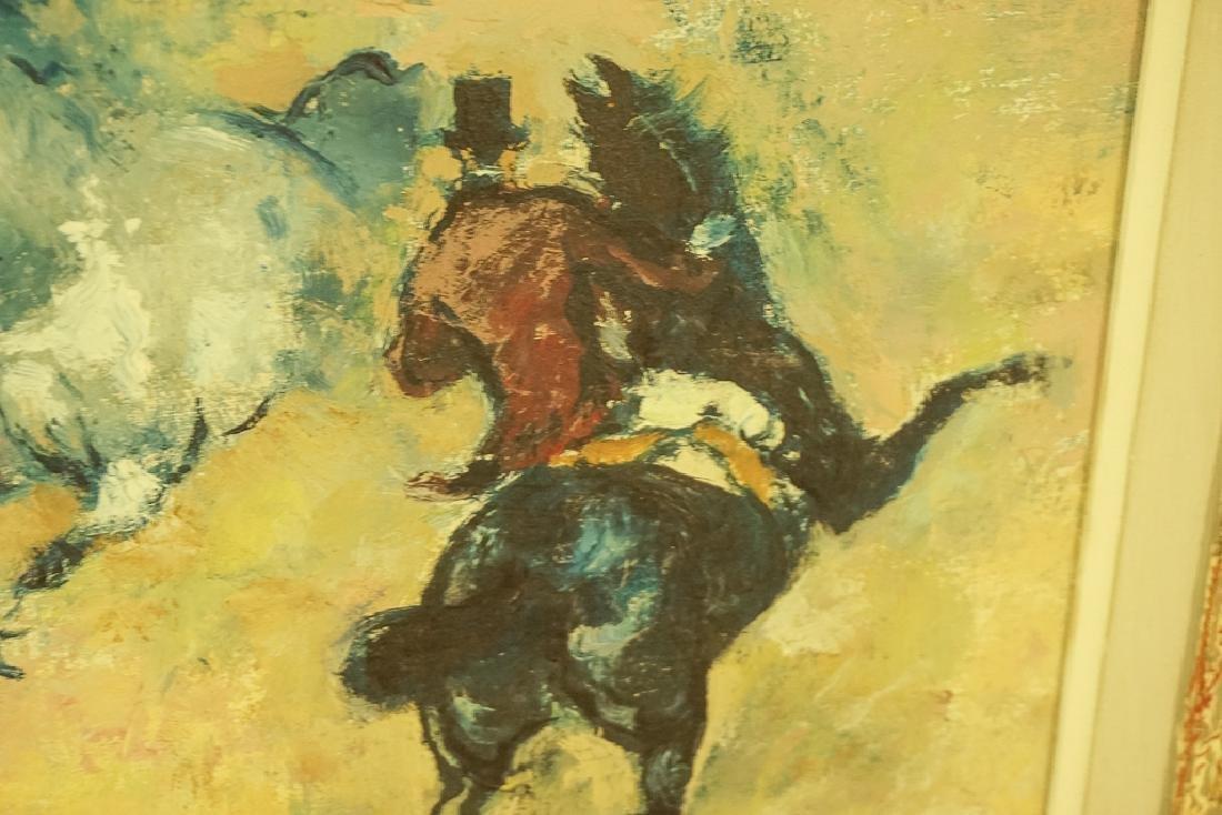 "20th C School, ""Horses with Rider"" - 5"