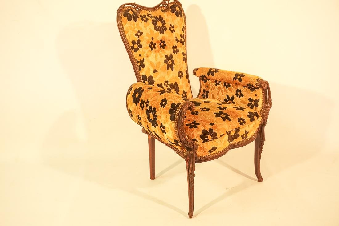 Pair of Upholstered Armchairs - 3