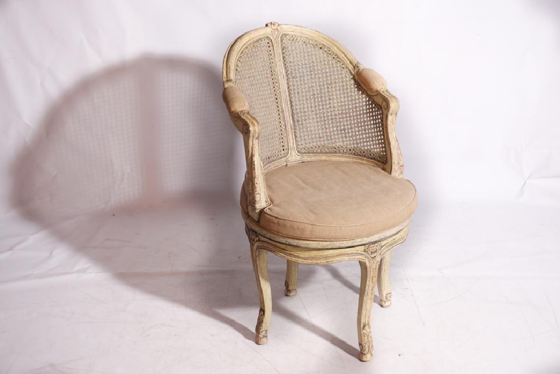Louis XV Style Desk Chair