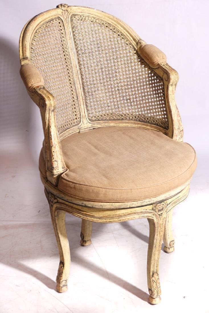 Louis XV Style Desk Chair - 2