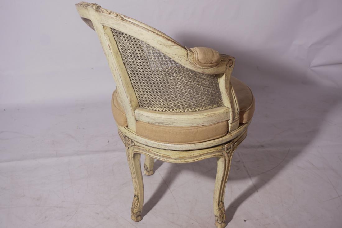 Louis XV Style Desk Chair - 4