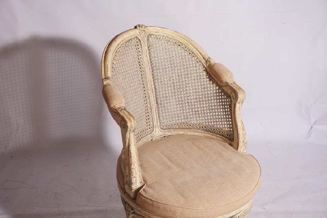 Louis XV Style Desk Chair - 7