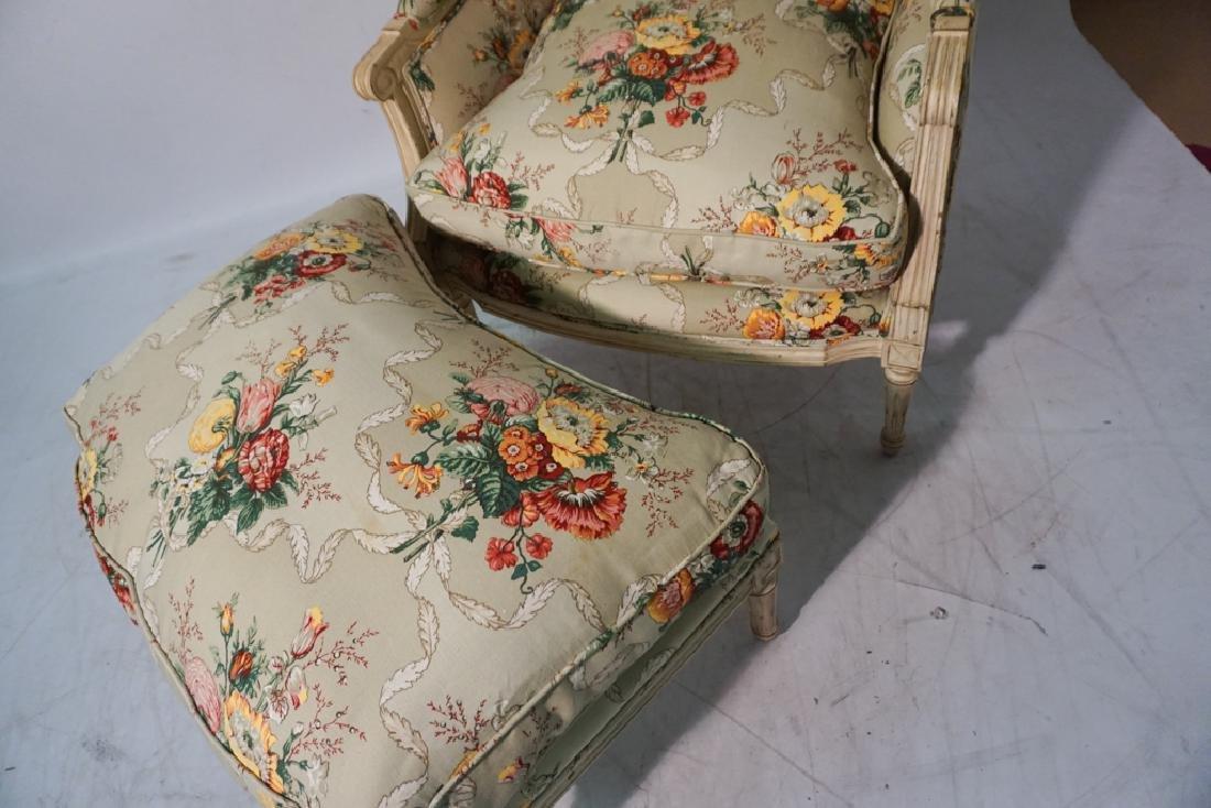 Louis XVI Style Bergere - 5