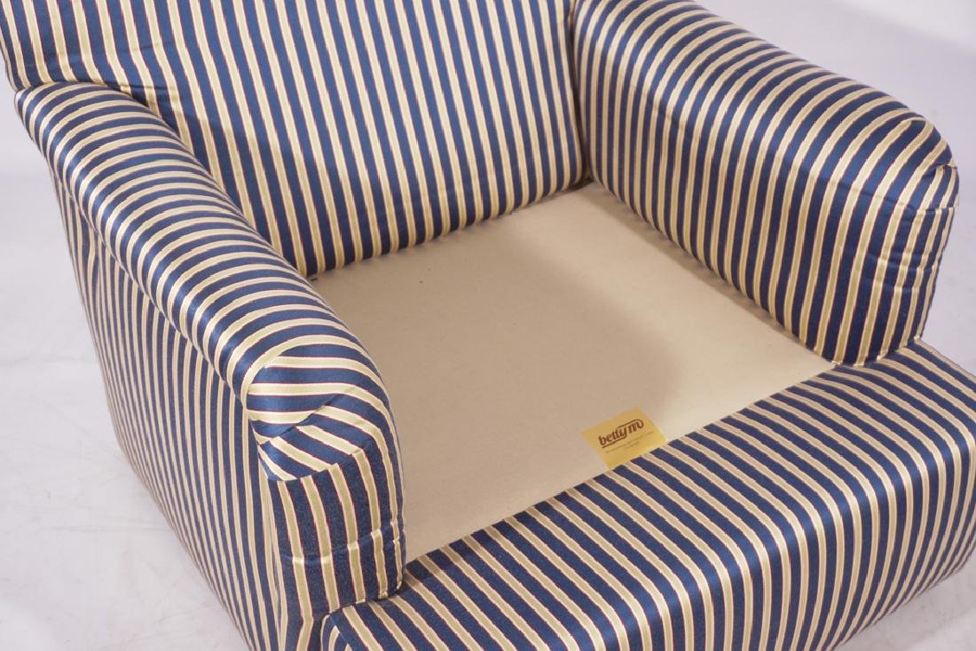 Pair Upholstered Club Chairs - 2