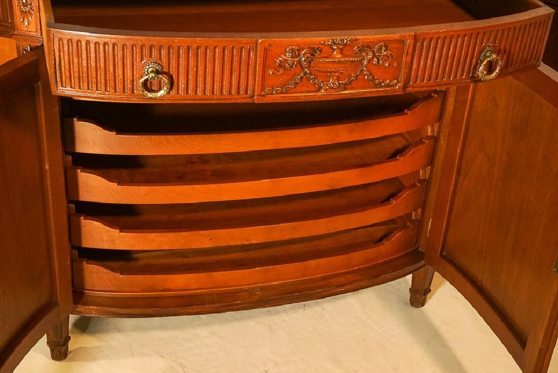 Louis XVI Style Demilune Console - 8