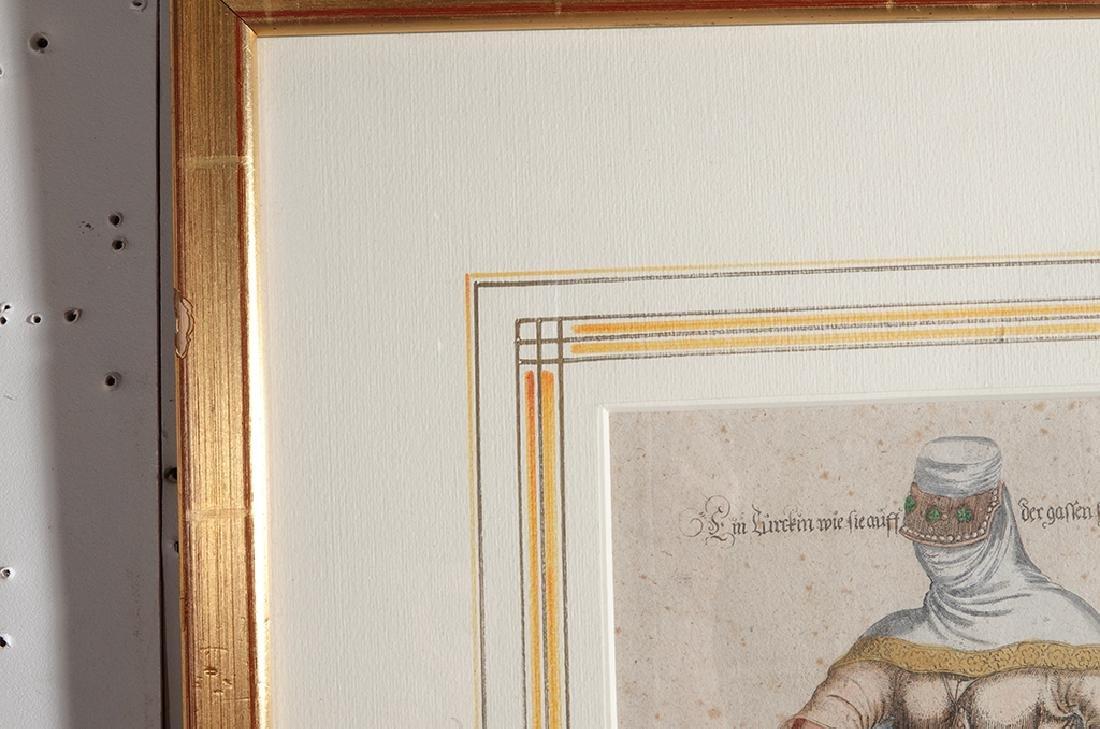 Pair of Engravings of Exotic Costumes - 4